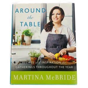 Cookbook Recipe Coffee Table Book Martina Mcbride